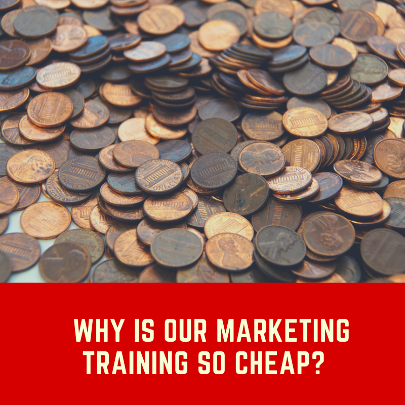 cheap marketing training