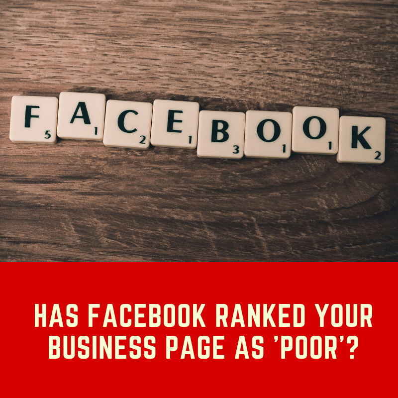 Facebook business page rank